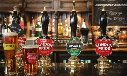 5 Formalities to Follow in Irish Pubs beer taps - 5 Formalities to Follow in Irish Pubs